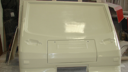 CPS-COM-302 FRONT PANEL AND LOCKER LID